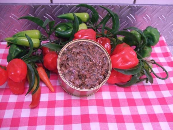 Pferdefleisch mit Gemüse / 375gr Dose