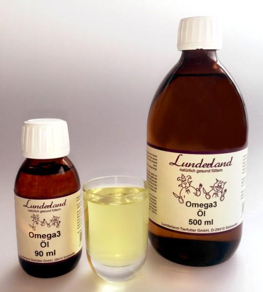 Lunderland Lachsöl - Omega-3-Öl (90 ml)