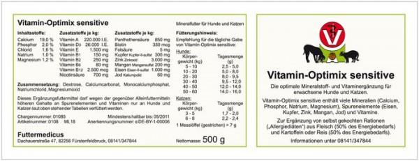 Vitamin -Optimix-Sensitive