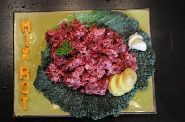 Frischfleisch vom Rind Mix-Rot gewolft