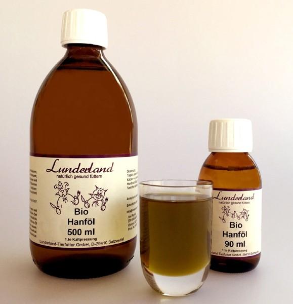 Lunderland BIO Hanföl (500 ml)