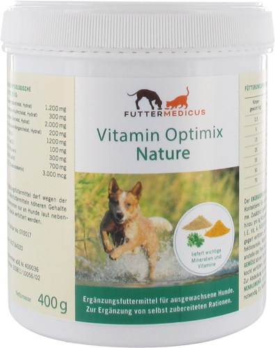 Vitamin Optimix Nature 400 g